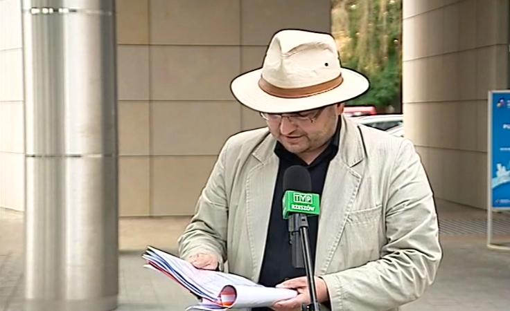 Ireneusz Dzieszko z Prawicy Podkarpackiej domaga się dostępu do informacji publicznej.