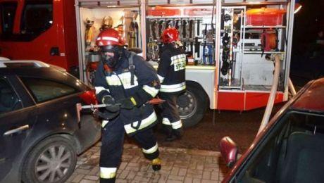 Pożar nie zagrażał okolicznym budynkom