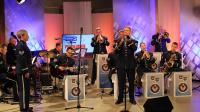 """9. Muzycy z zespołu """"United States Air Forces in Europe"""" w TVP3 Rzeszów"""