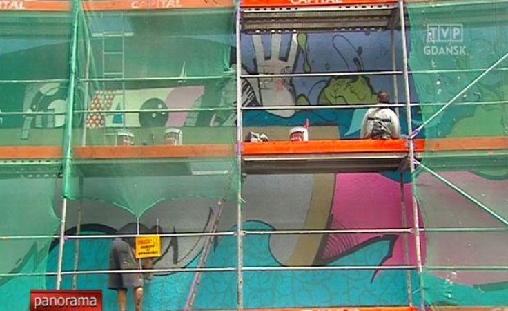 Przybywa murali na trójmiejskich budynkach
