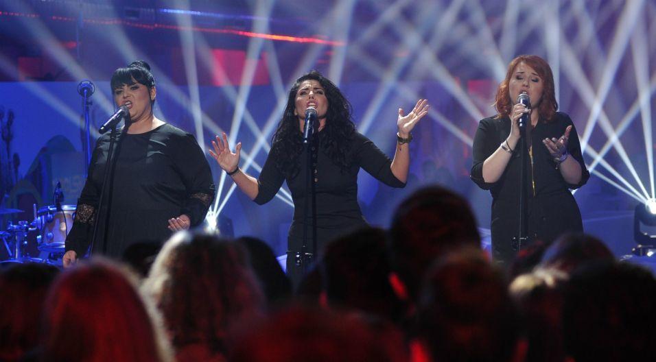 """The Chance w programie zaśpiewały własną kompozycję """"Bliżej"""" (fot. Natasza Młudzik/TVP)"""