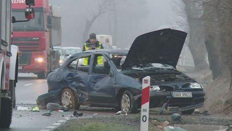 Niebezpiecznie na drogach we wschodniej części regionu