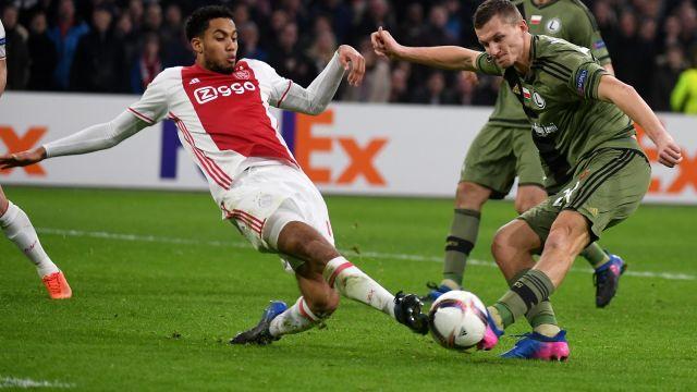 LE: Ajax wyeliminował Legię. Zobacz skrót rewanżu!