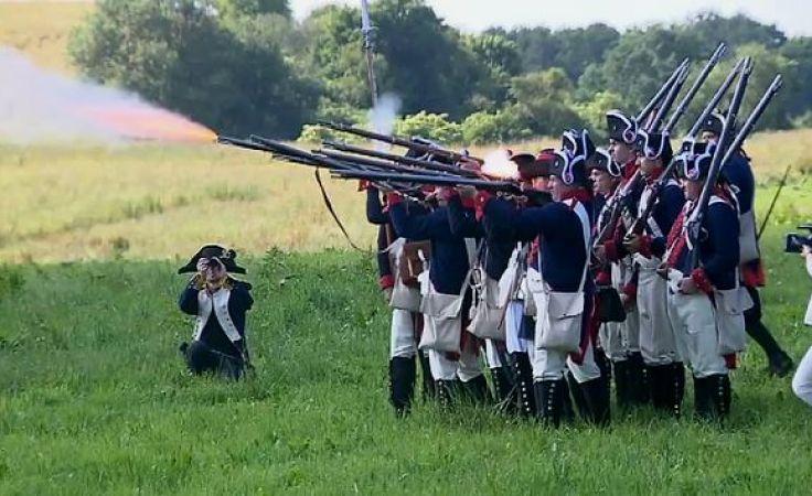 Napoleon znów na Warmii. Rekonstrukcja przyciągnęła tłumy