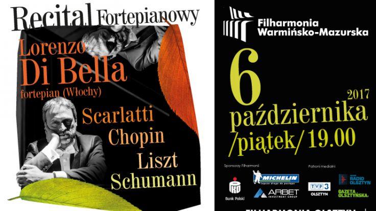 Lorenzo Di Bella jest laureatem wielu międzynarodowych konkursów pianistycznych