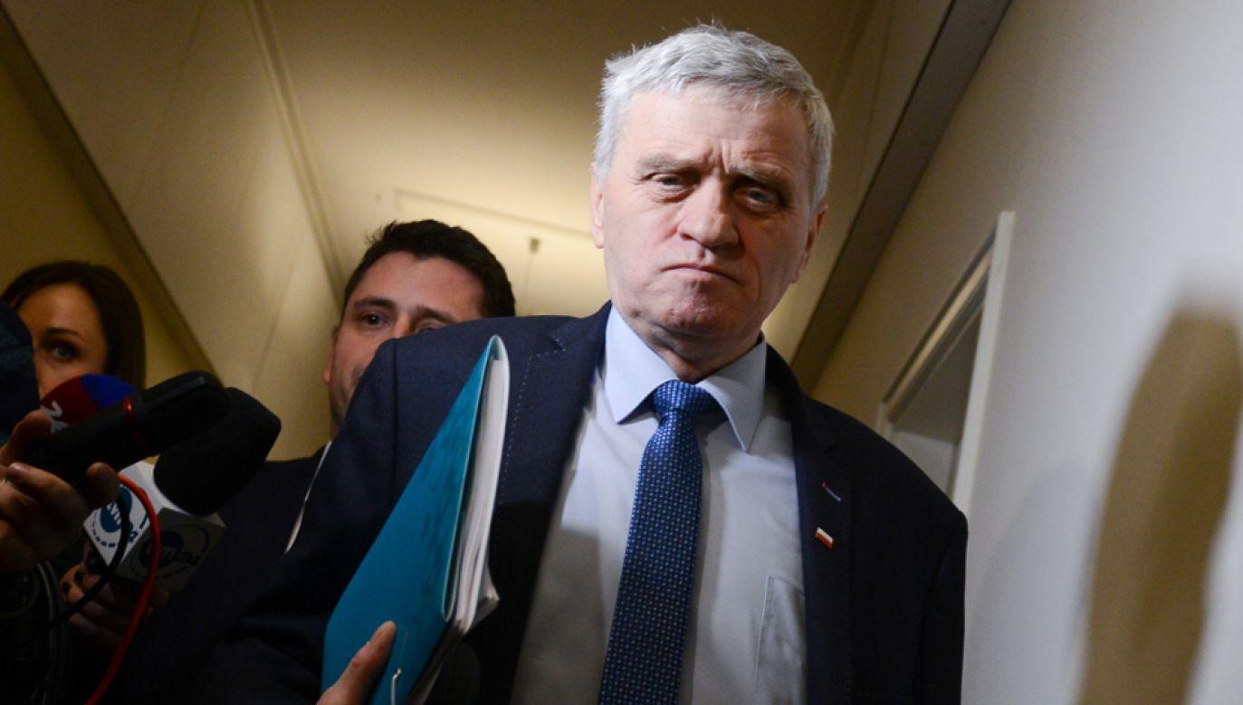 Senator Stanisław Kogut (P)  (PAP/Jakub Kamiński)