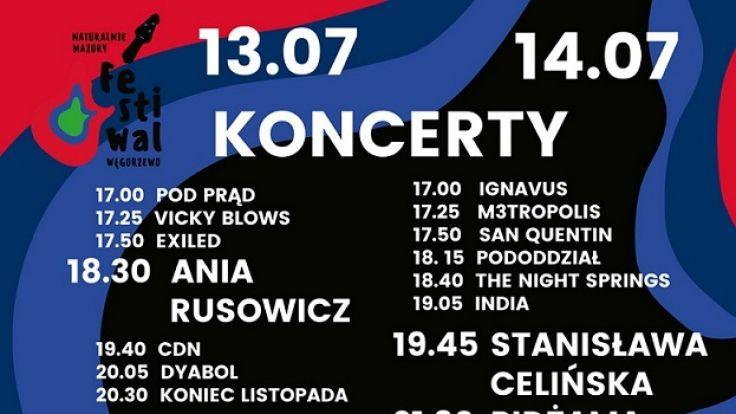 Wystąpią między innymi Ania Rusowicz, Lady Pank czy Pidżama Porno