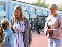 Iga natomiast zostaje wezwana do szkoły – okazało się, że Oliwka narozrabiała (fot. A. Grochowska)