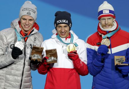 Kamil Stoch już ze złotym medalem