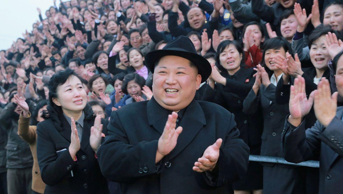 W grudniu 2017 r. Rada Bezpieczeństwa ONZ zaostrzyła sankcje wobec rządzonej przez Kim Dzong Una Korei Północnej (fot. KCNA/via REUTERS ATTENTION EDITORS)