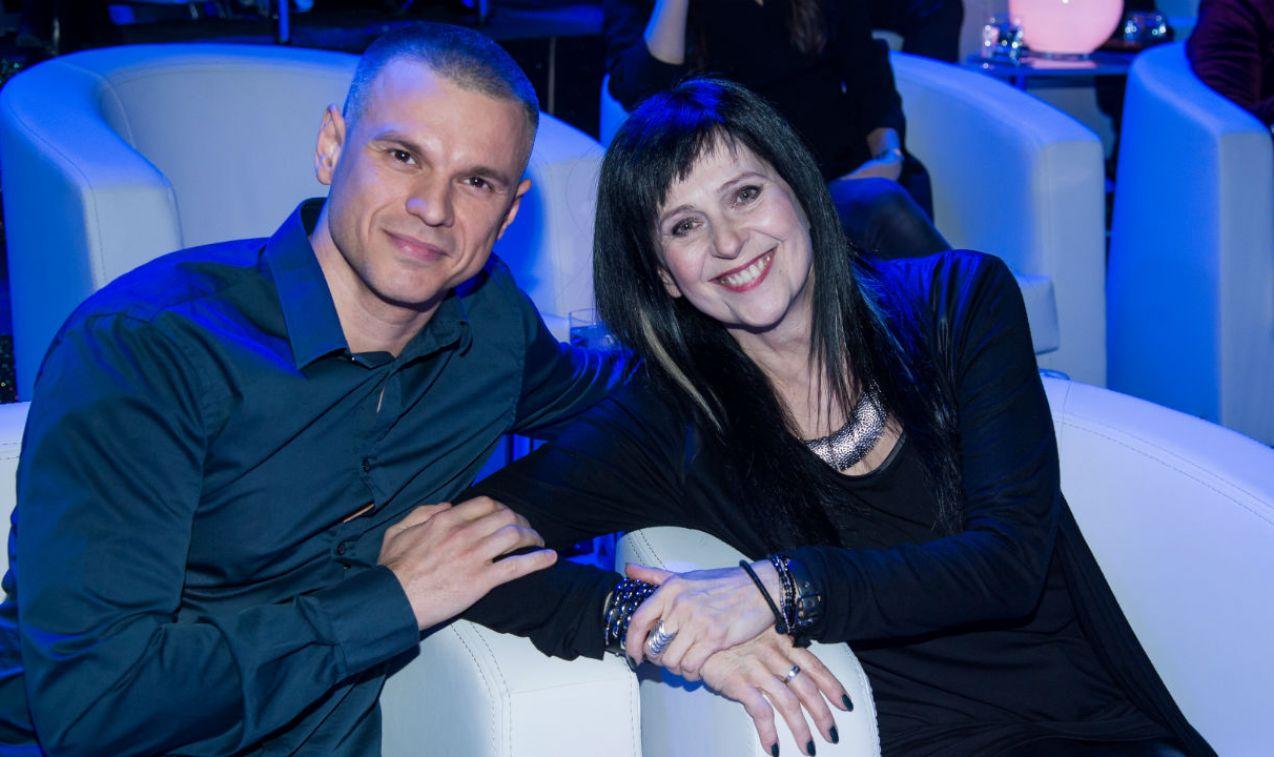 Robert Mateusiak i Wanda Kwietniewska czyli sportowo-muzyczny sojusz   (fot. Jan Bogacz)