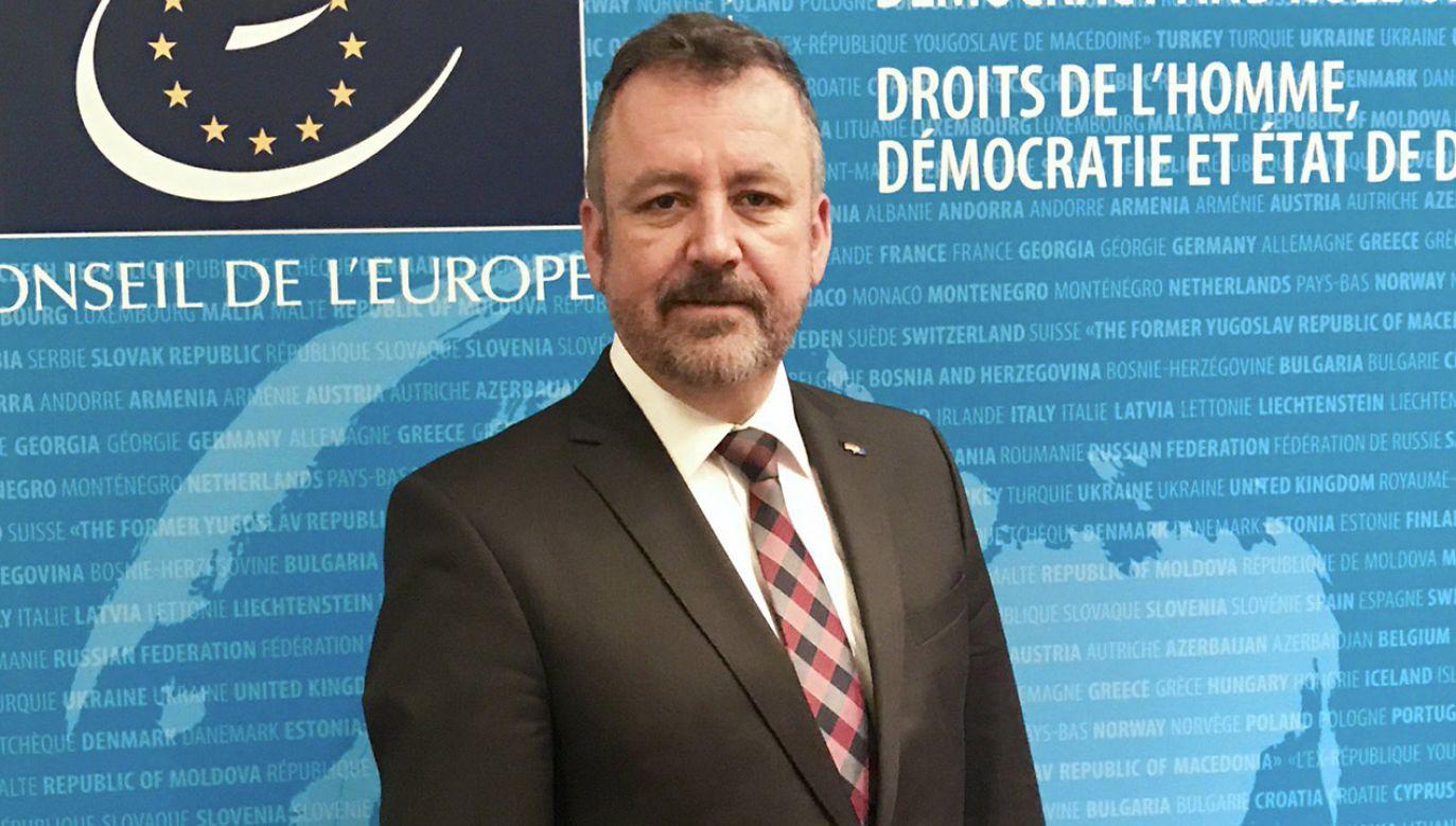 Bernd-Bernhard Fabritius – przewodniczacy Związku Wypędzonych (fot. tt/@BerndFabritius)