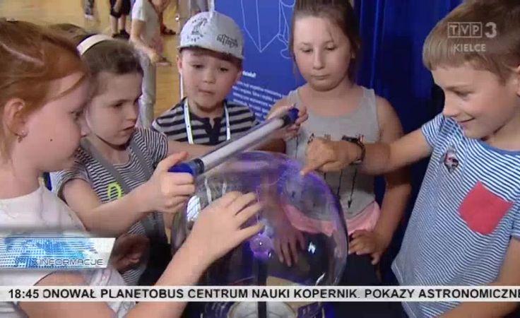 Dzieci bliżej gwiazd. Przyjedzie Planetobus