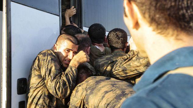 Po puczu zatrzymano ponad 6 tys. żołnierzy (fot. Stringer/Getty Images)