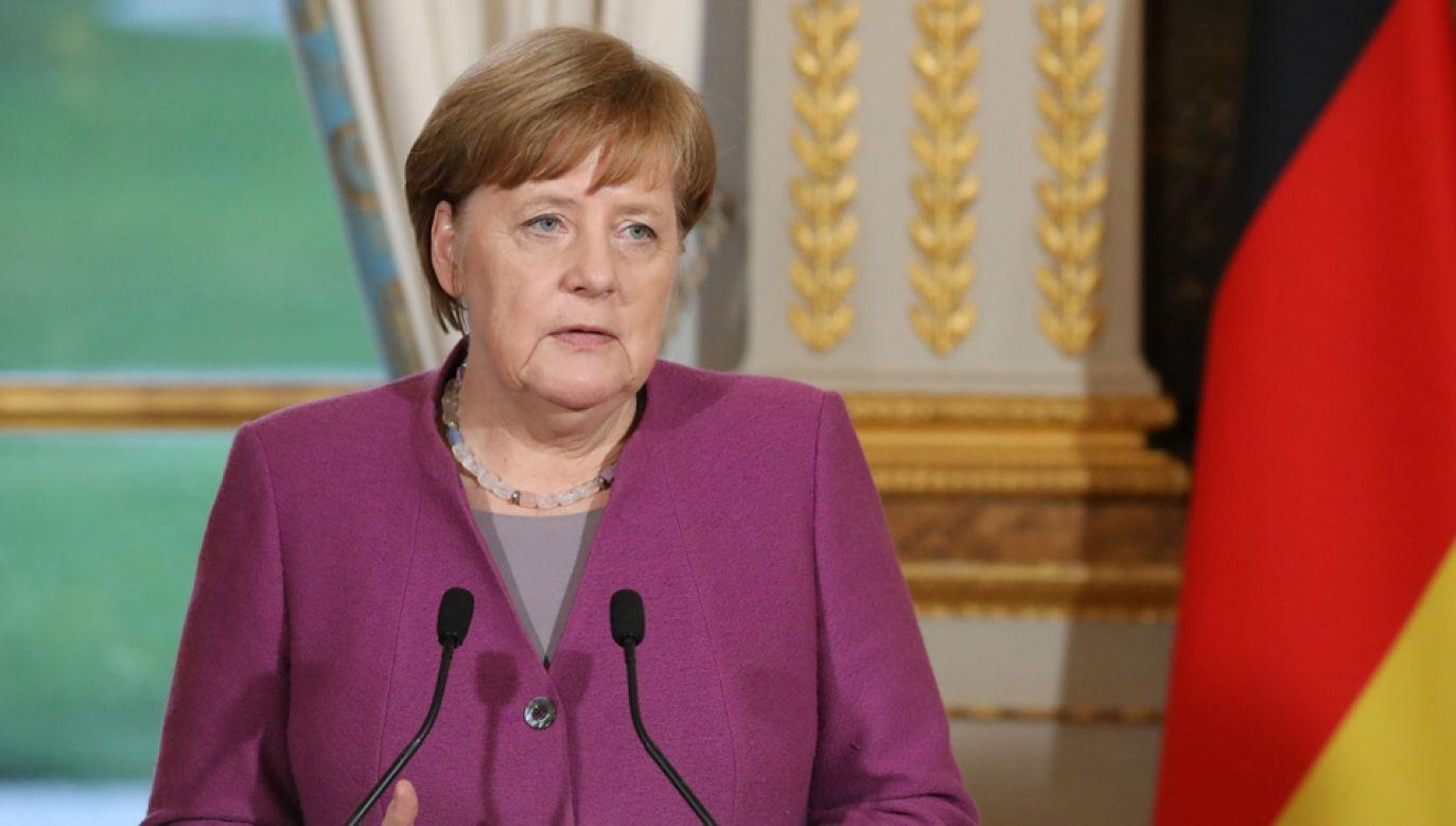 Kanclerz Niemiec Angela Merkel odwiedzi Polskę (fot. PAP/EPA/LUDOVIC MARIN)