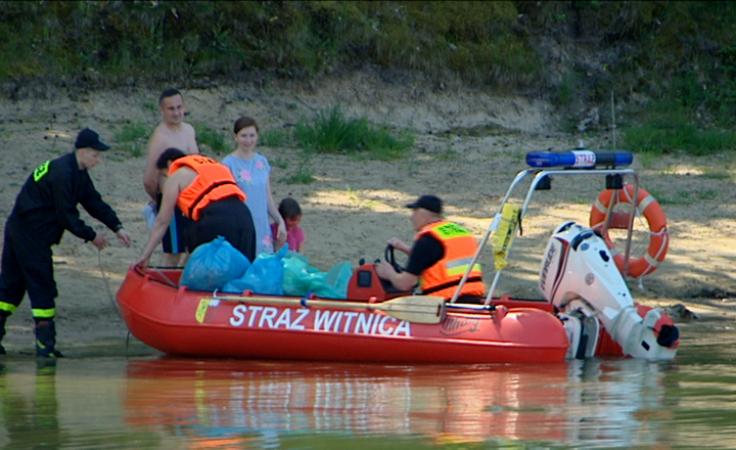 150 wolontariuszy posprzątało jezioro WIelkie. Co znaleźli?