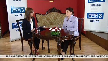 24.06.2018 - rozmowa z Beatą Szydło