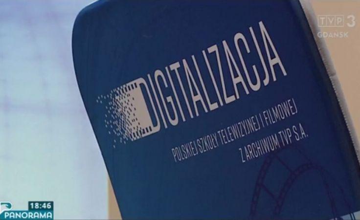 Nowy projekt TVP - digitalizacja z archiwum
