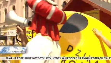 Żółta kula na Sienkiewicza. Znak, że startuje