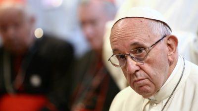 ŚDM - Wizyta papieża Franciszka w sanktuarium w Łagiewnikach
