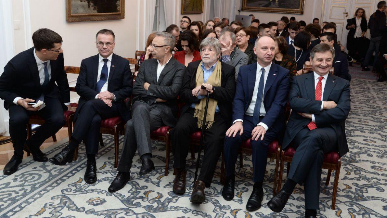Spektakl powstał z okazji zbliżającej się 150. rocznicy urodzin Józefa Piłsudskiego (fot. Jan Bogacz/TVP)