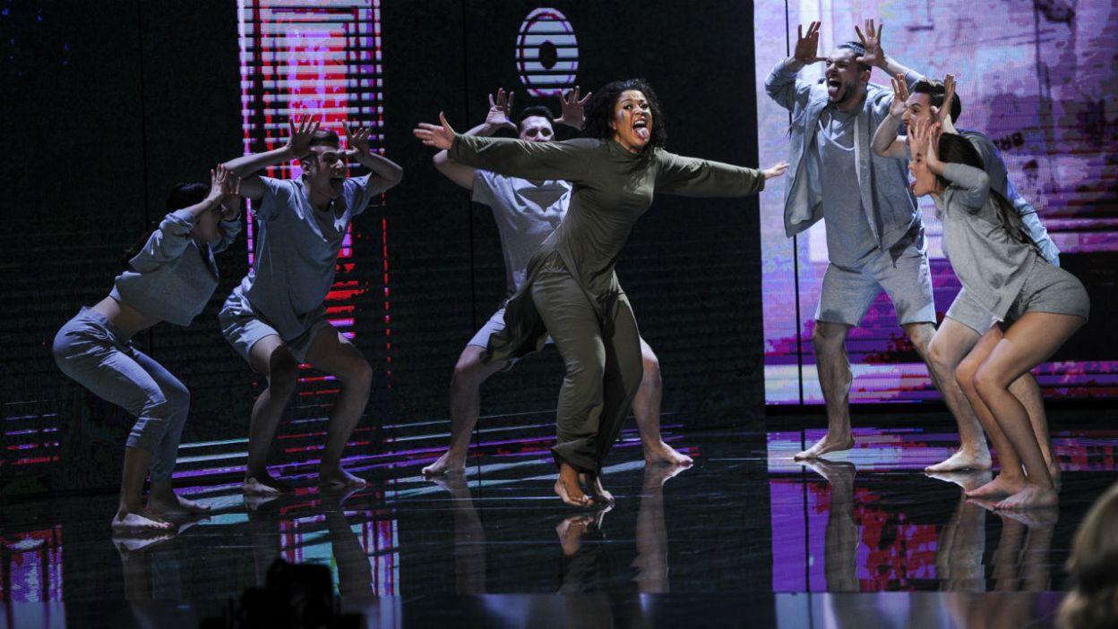 – Ja ja mam to zatańczyć? – zastanawiała się Patricia Kazadi (fot. TVP)