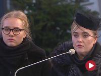 """""""Zachęcałeś do czynienia dobra"""".  Wdowa pożegnała prezydenta Pawła Adamowicza"""
