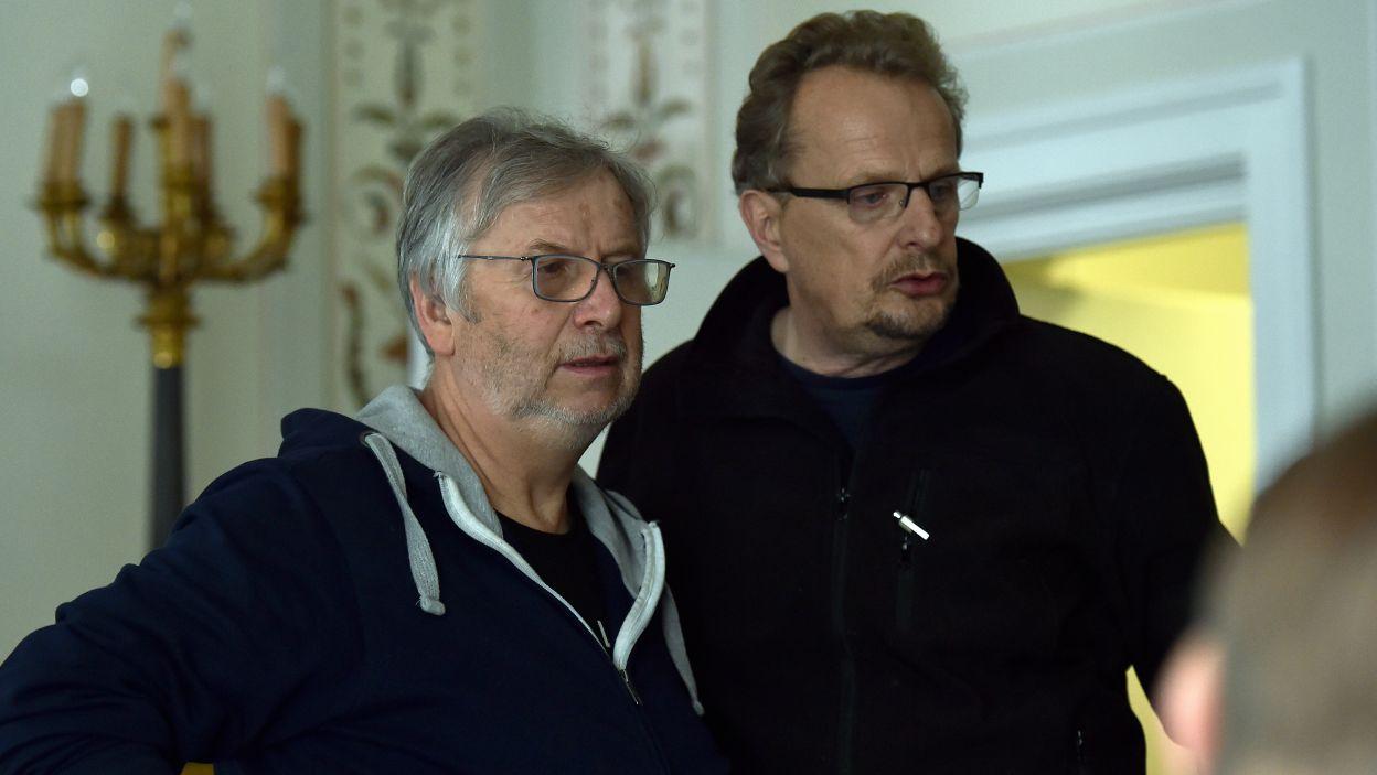 """""""Marszałka"""" wyreżyserował Krzysztof Lang, a autorem zdjęć jest Adam Sikora (fot. Ireneusz Sobieszczuk/TVP)"""