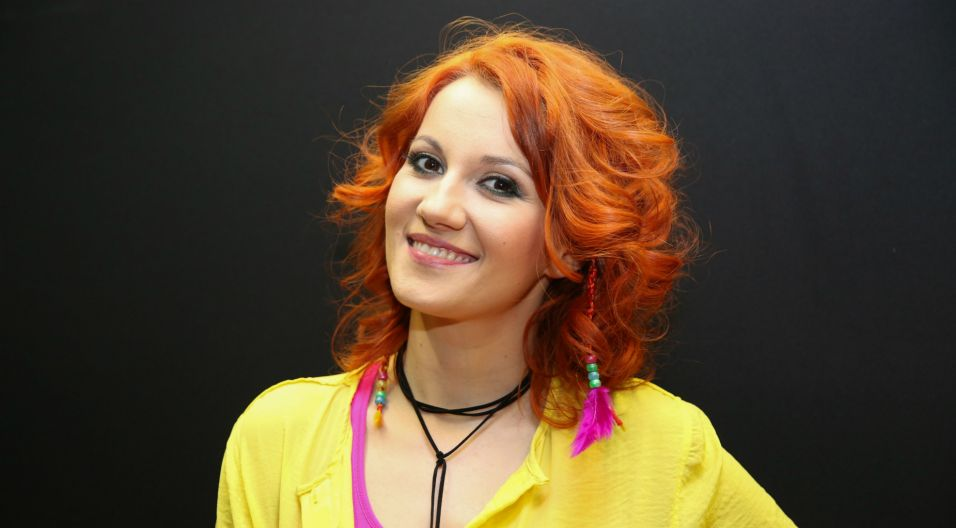 Katarzyna Stasiak, czyli Stashka, jest już doświadczoną piosenkarką (fot. Natasza Młudzik/TVP)