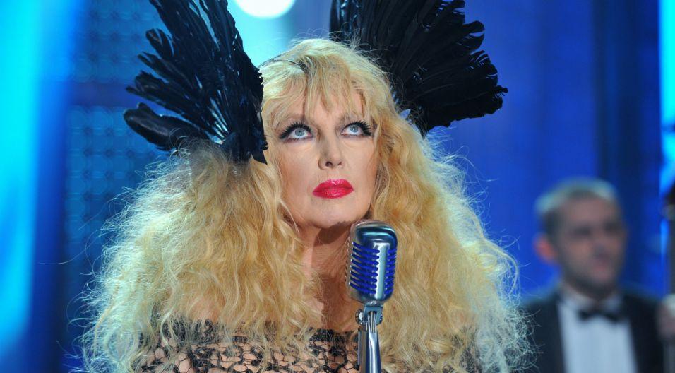 Jej pierwszym poważniejszym sukcesem był występ w 1967 roku na Przeglądzie Piosenki Studenckiej w Lublinie. W tym samym roku wzięła także udział w SFP w Krakowie (fot. TVP)
