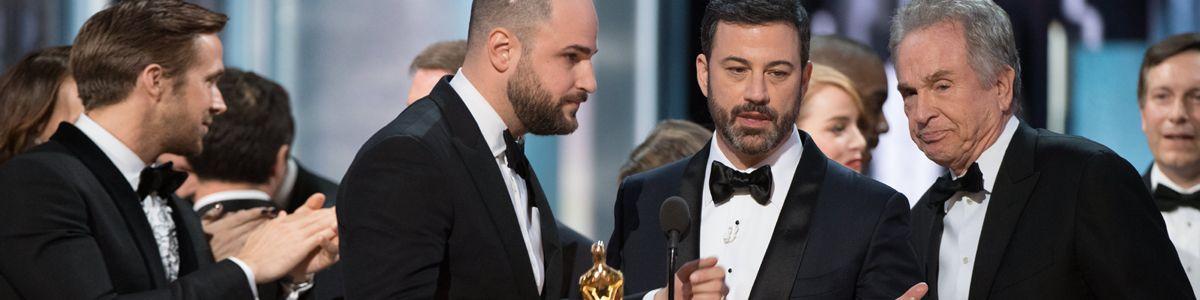 Oscarowa wpadka