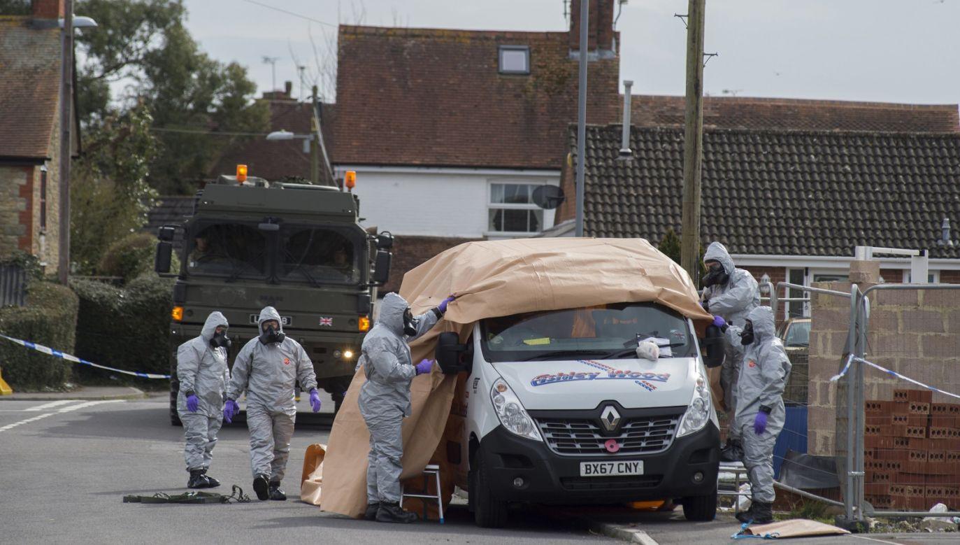 Do ataku na agenta doszło w połowie marca (fot.  EPA/MARTIN JONES)