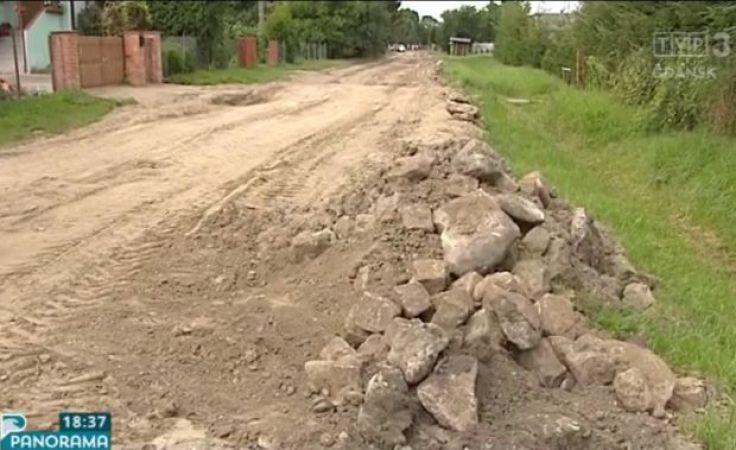 Niekończąca się budowa drogi