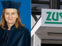 Profesor Gertruda Uścińska ma zostać szefową ZUS. Zakład od roku nie ma prezesa
