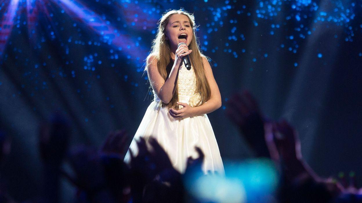 Jury oraz telewidzowie w sms-owym plebiscycie zdecydowali, że na Malcie zaśpiewa Olivia Wieczorek (fot. Grazyna Myslinska/FORUM)
