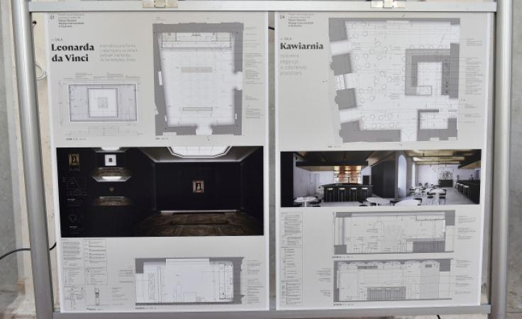 Zwycięski projekt nowej ekspozycji i aranżacji wnętrz Pałacu Książąt Czartoryskich (fot. PAP/Jacek Bednarczyk)