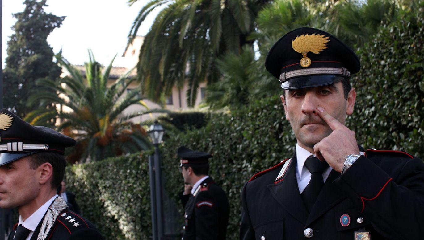 Karabinierzy aresztowali dwóch pracowników z Polski (fot. Franco Origlia/Getty Images)
