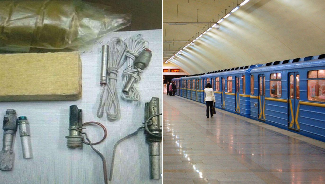 Pasażera z ładunkiem wybuchowym zatrzymano na stacji Żytomyrska (fot. MSW Ukrainy/Wiki/Amy)