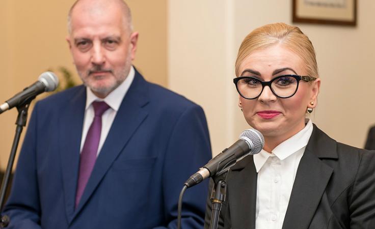 Rafał Dutkiewicz i Magdalena Piasecka (fot. wroclaw.pl)