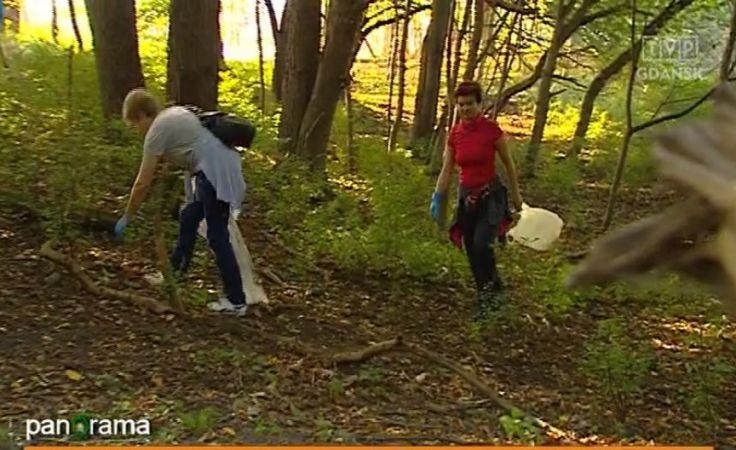 Mieszkańcy sprzątają gdyńskie Orłowo