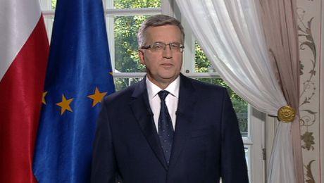 Bronisław Komorowski po pięciu latach opuszcza urząd prezydenta RP