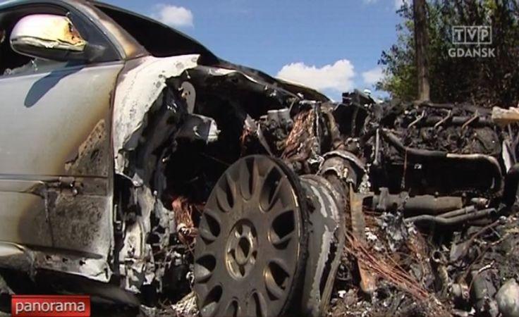 Czy podpalenie trzech aut w Gdańsku to zemsta?