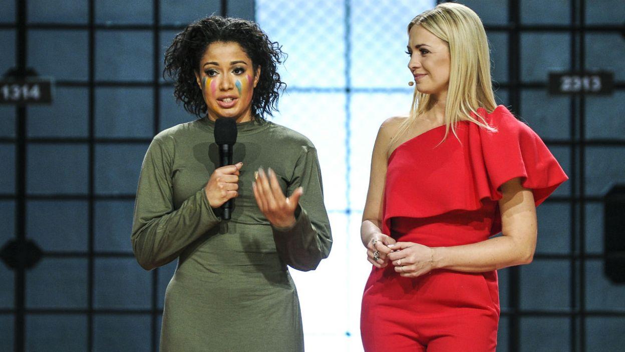 Ta choreografia nie należała do łatwych. Oceny jury i reakcja publiczności doprowadziły Patricię do łez... wzruszenia (fot. TVP)