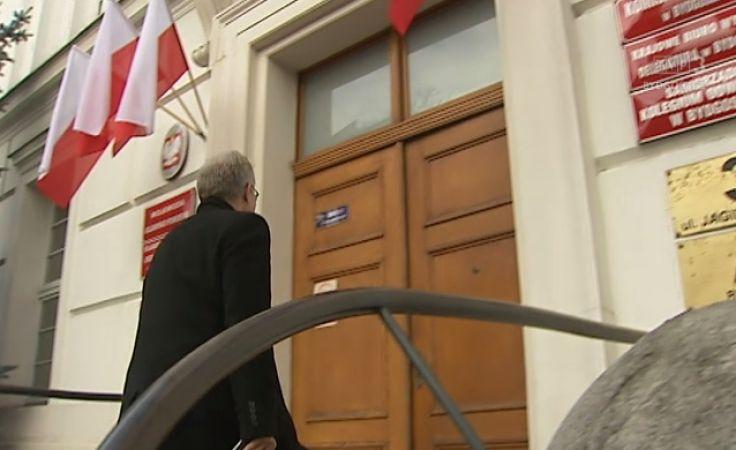 Zamknięte posiedzenie wojewody z posłami PiS w Urzędzie Wojewódzkim