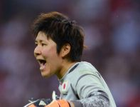 Miho Fukumoto dwa razy wyciągała piłkę z bramki (fot.Getty Images)