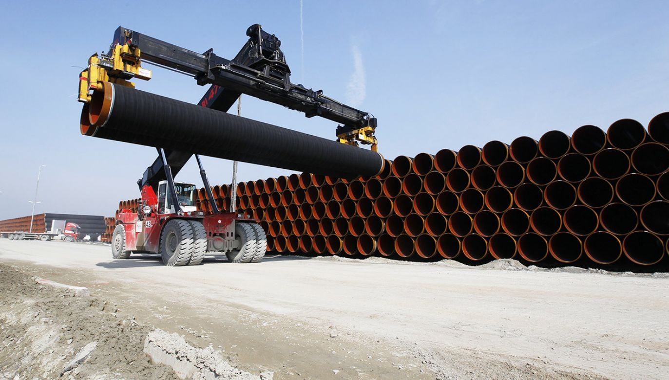 Dotąd Niemcy wspierały Nord Stream 2, utrzymując, że ma on charakter biznesowy(fot. REUTERS/Christian Charisius)