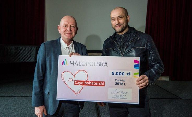 Piotr Fałowski (z prawej). Fot. Biuro Prasowe UMWM