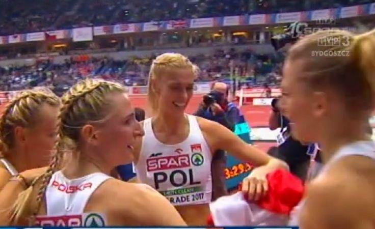 Złote medalistki na mecie
