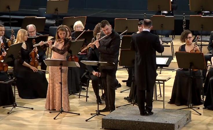 Muzyczne małżeństwo w filharmonii. Jako fleciści osiągnęli wszystko