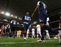 Gospodarze wychodza na murawę Millennium Stadium (fot.Getty Images)